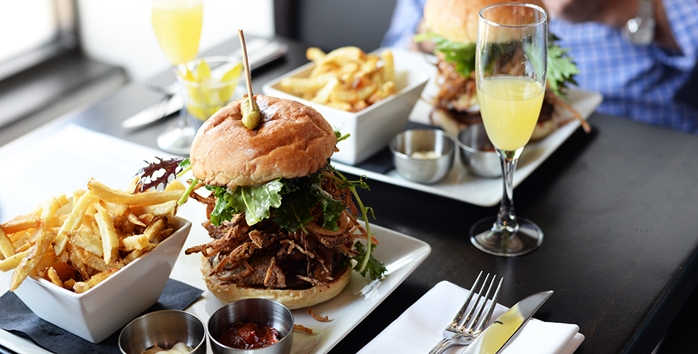 Brunch la brasserie burger