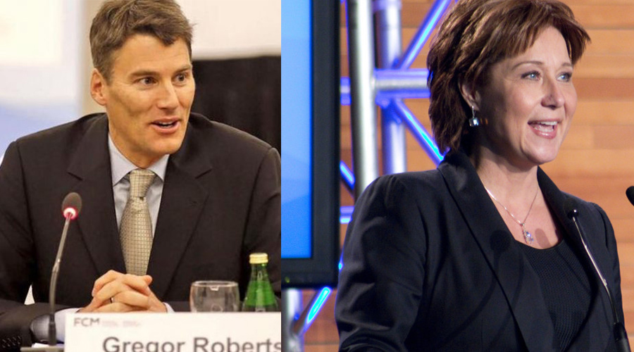 Gregor Robertson wants an empty homes tax, while Christy Clark says no