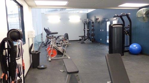 Image: Fitness Facility / Malika Karim