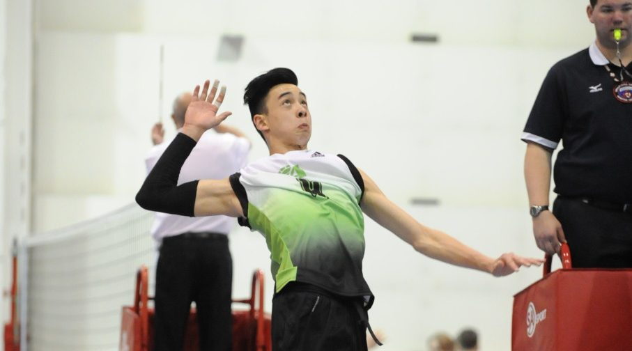 East Van's Coltyn Liu overcomes brain injury to reach volleyball stardom