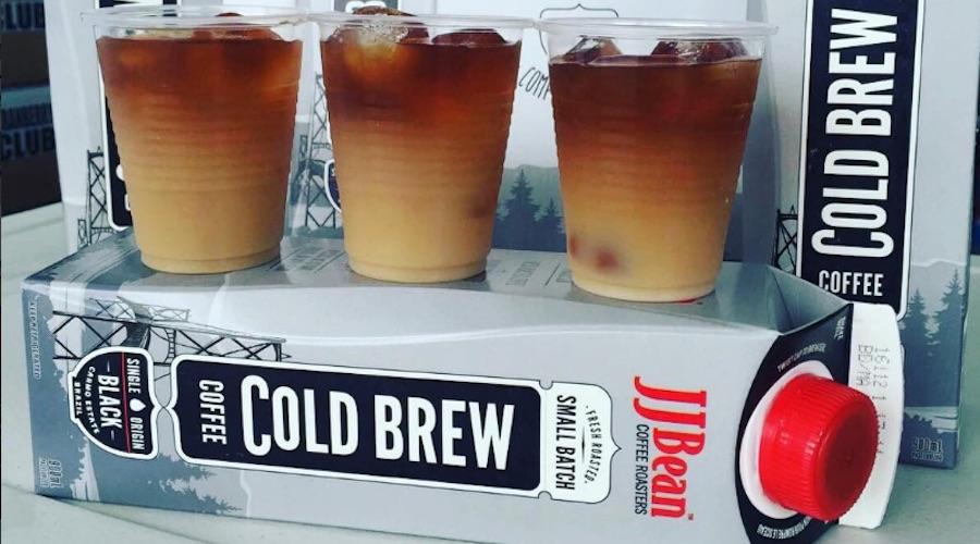 Jjbean cold brew coffee