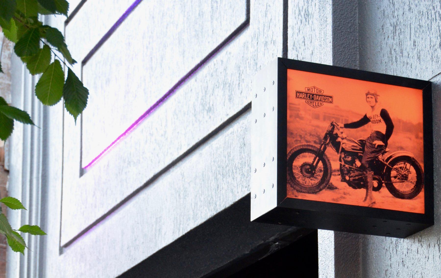Look inside Harley-Davidson's new Toronto cafe