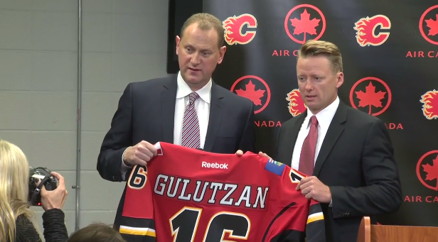 Canucks lose assistant coach Glen Gulutzan to Flames