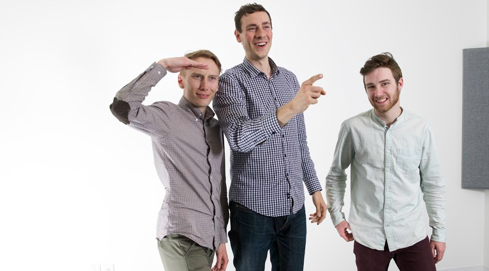 The three entrepreneurs / Spare Rides