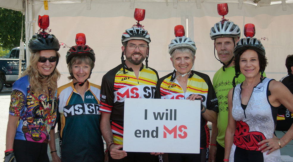 MS Bike aims to help find a cure for multiple sclerosis - whilst doing some drinking along the way (MS Bike)