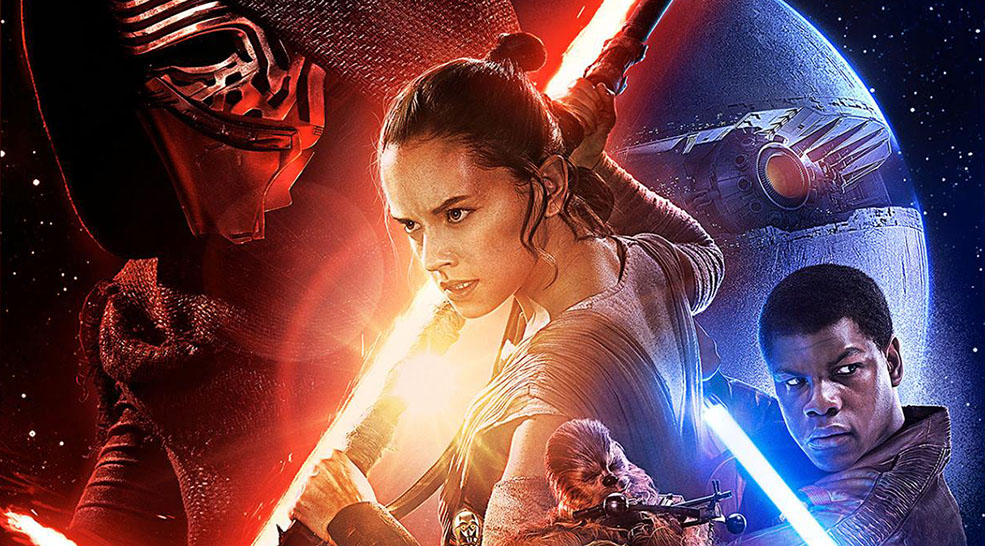 The Star Wars: The Force Awakens poster (Lucasfilm)