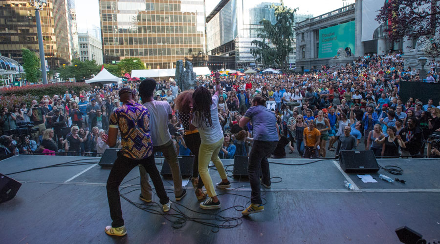 Free concerts in downtown Vancouver to jazz up your summer