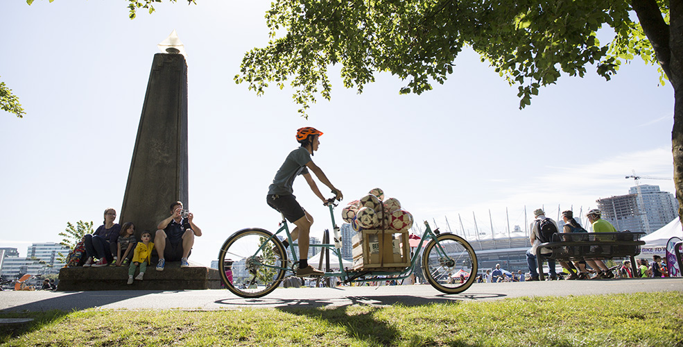 Vancouver's 2nd annual cargo bike championship (PHOTOS, VIDEO)