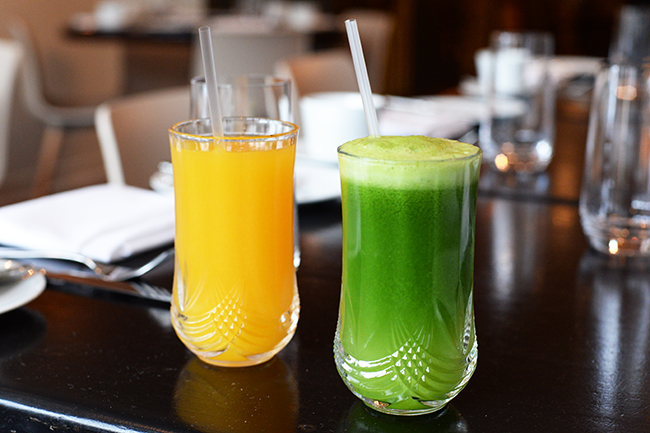 Freshly squeezed juice (Jess Fleming / Daily Hive)