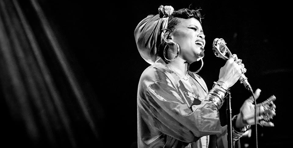 Andra Day Vancouver 2016 concert at the Commodore Ballroom