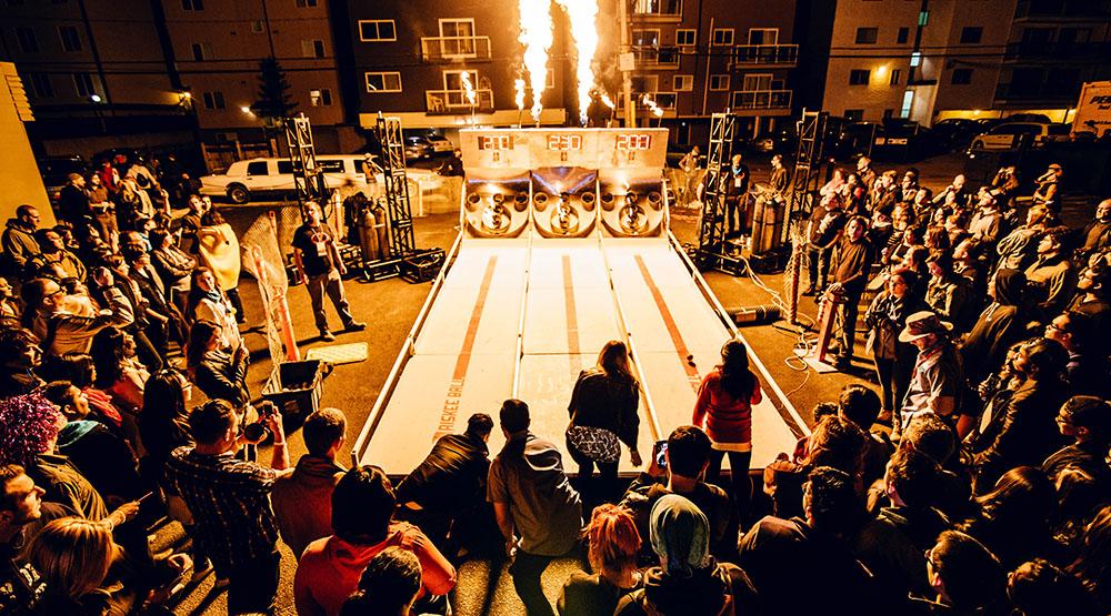 SkeeBall at Beakernight 2015 (Kelly Hofer/Flickr)