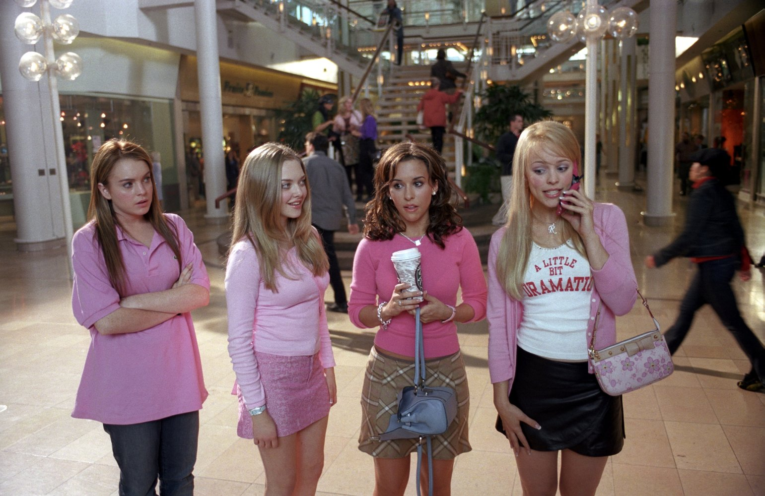 You can watch Mean Girls with Lindsay Lohan tomorrow night in Toronto