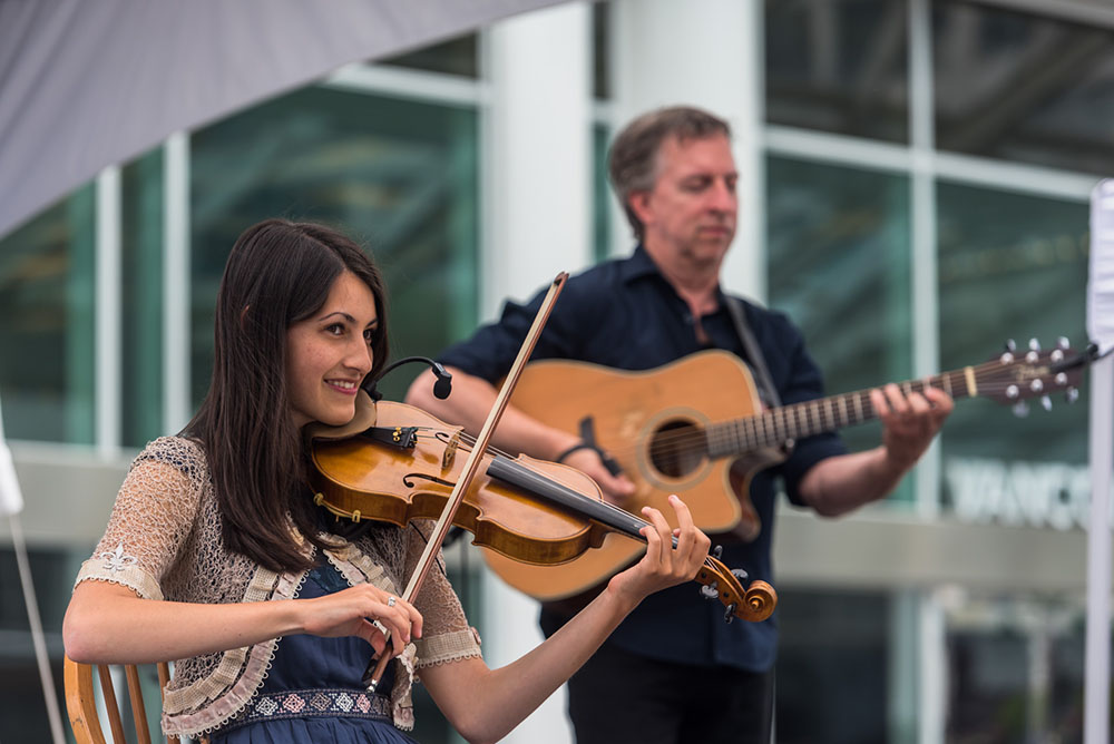 Expect lots of francophone music at St. Jean Baptiste Day in Vancouver (Port of Vancouver)