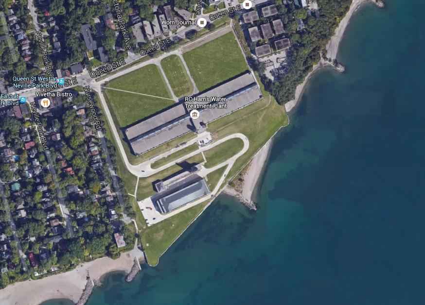 Toronto Water Treatment Plant