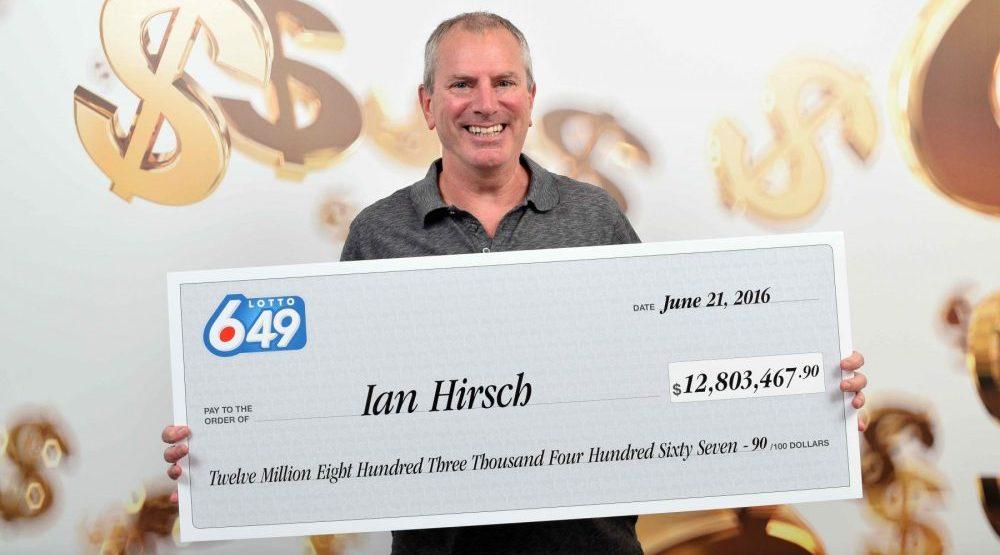 Coquitlam man wins $12.8-million Lotto 6/49