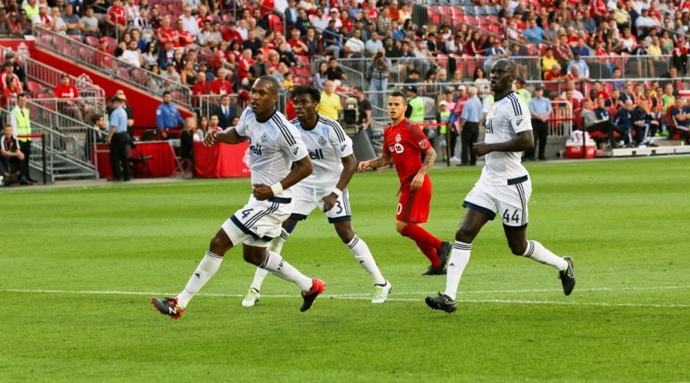 Whitecaps FC drop first leg of Canadian Championship final in Toronto