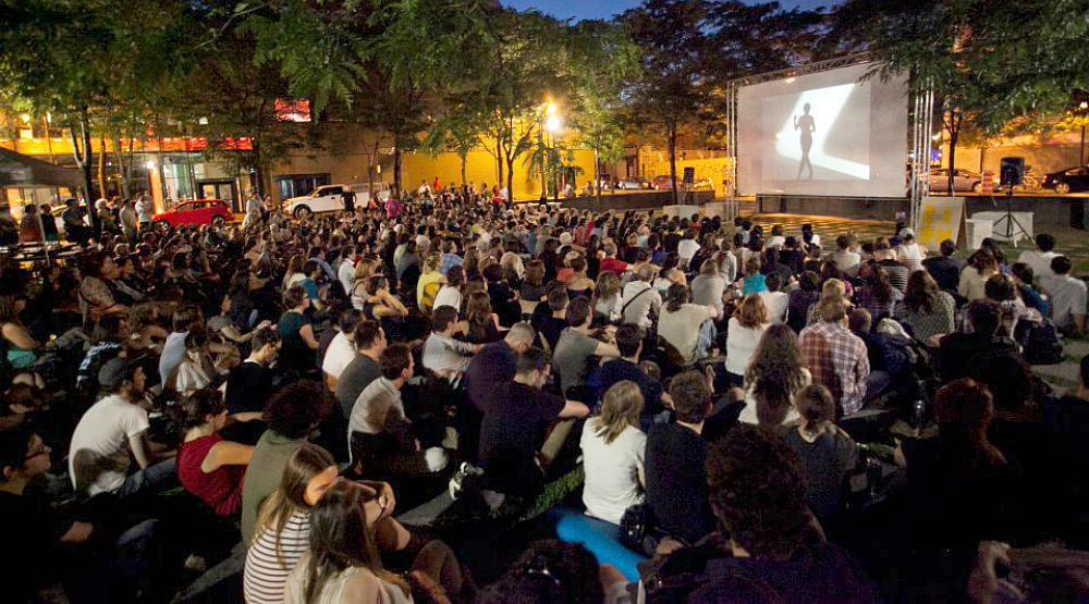 Montreal's Urban Cinema Under the Stars is back