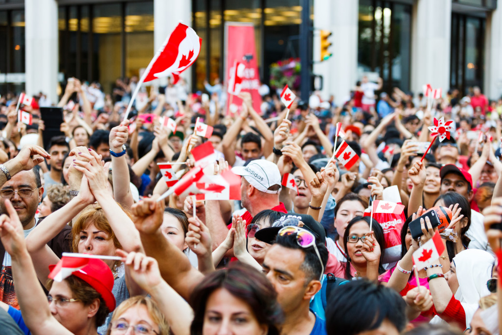 "the celebration of multiculturalism in canada The community folk art council of toronto, a non-for-profit organization, is proud to present the 11th annual multicultural canada day celebrations- a parade and celebration at yonge dundas square 10am – 12pm we will be hosting a 150 celebrate canada parade, the "" parade of nations"", with participants of over 20."