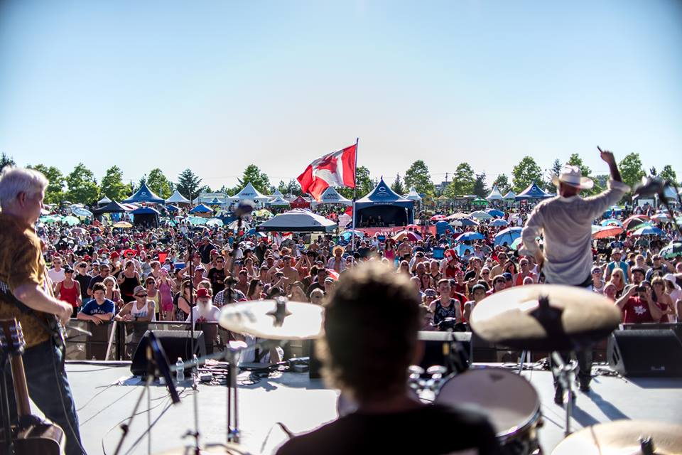Canada Day at Bill Reid Millennium Amphitheatre is huge (City of Surrey/Facebook)