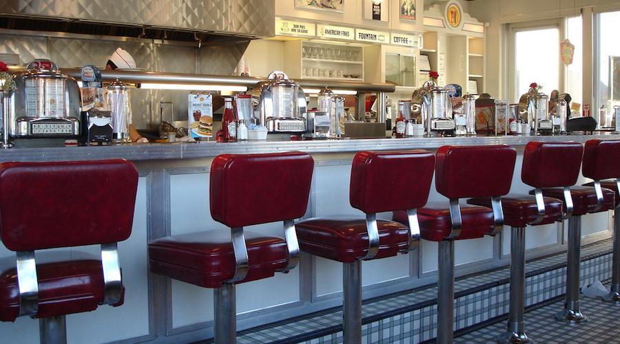 Johnny rockets diner 2006