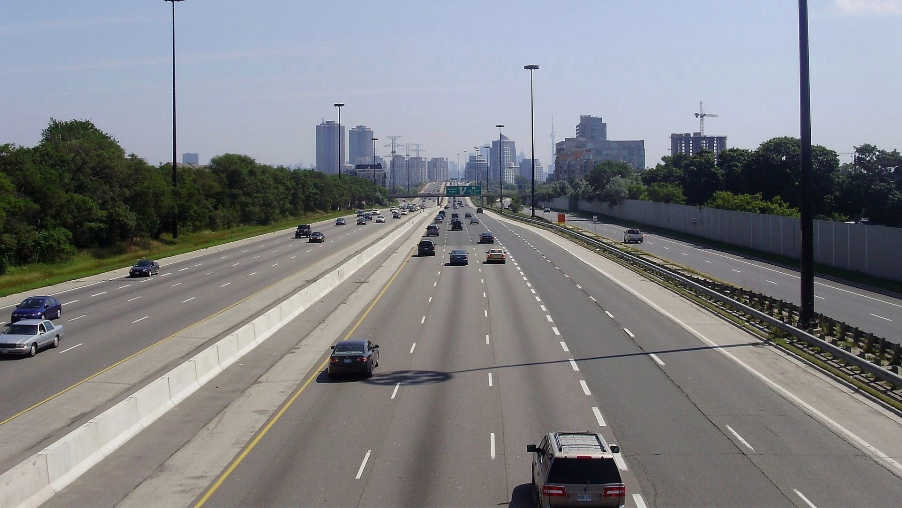 Qew toll lane