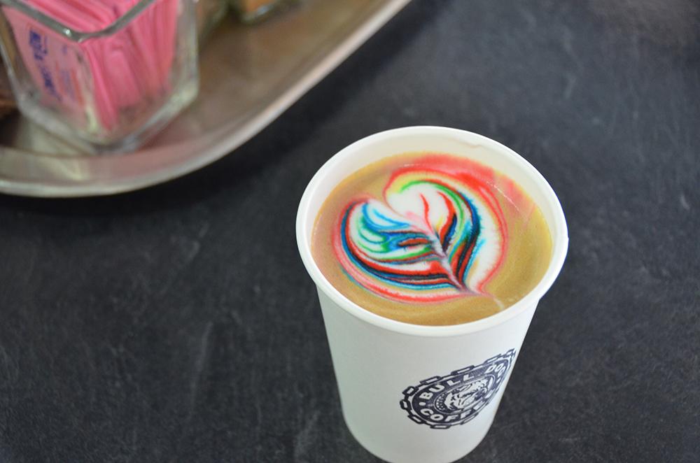 Rainbow latte toronto 4