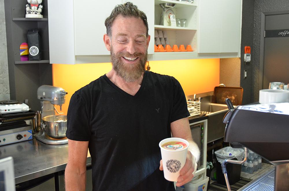 Rainbow Latte Toronto
