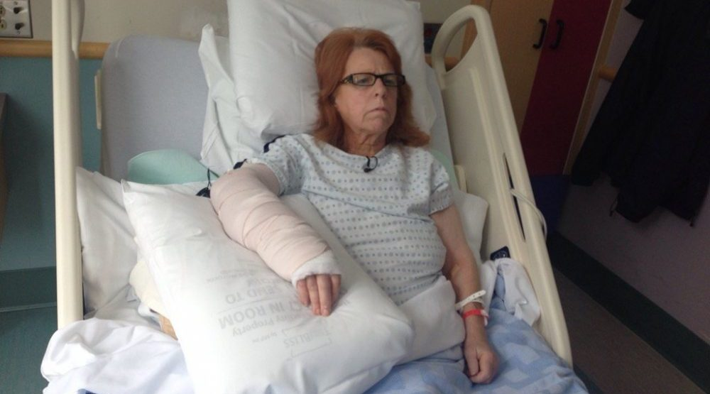 Surrey pit bull that attacked 65-year-old woman destroyed, no charges for owner
