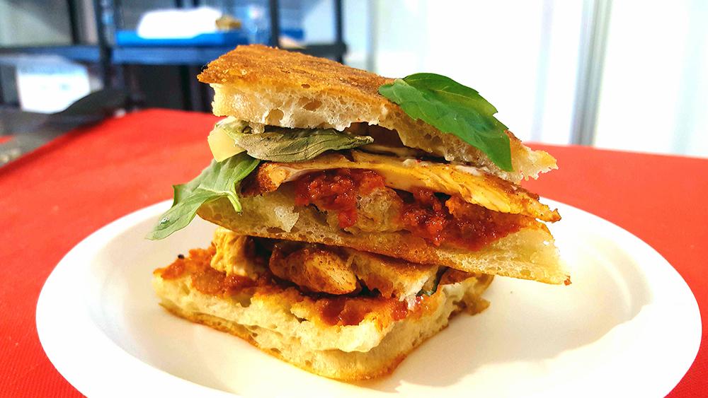 Taste of Toronto Carver porchetta sandwich