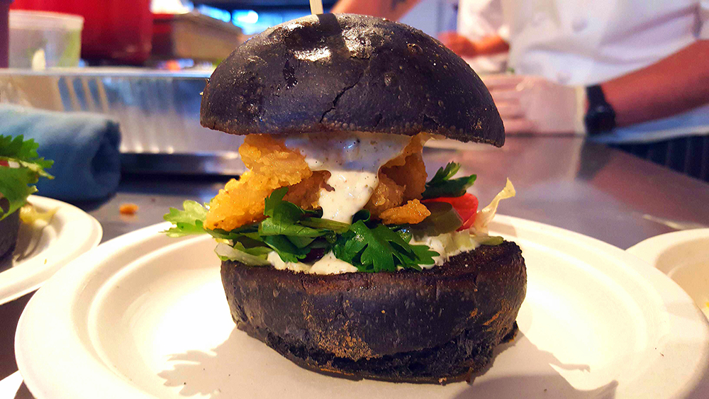 Taste of Toronto Chef Mark McEwan Group calamari burger
