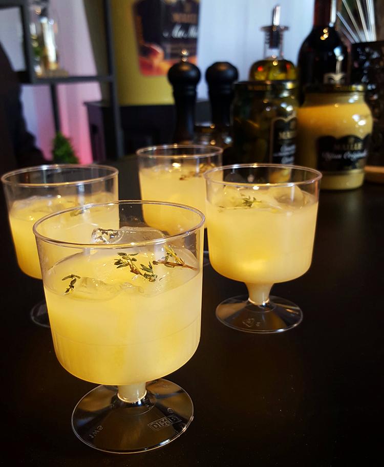 Taste of Toronto Maille mustard cocktail