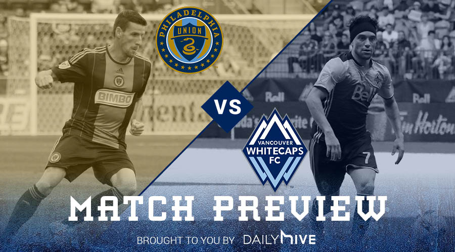 Match Preview: Whitecaps FC face off with East-leading Philadelphia Union