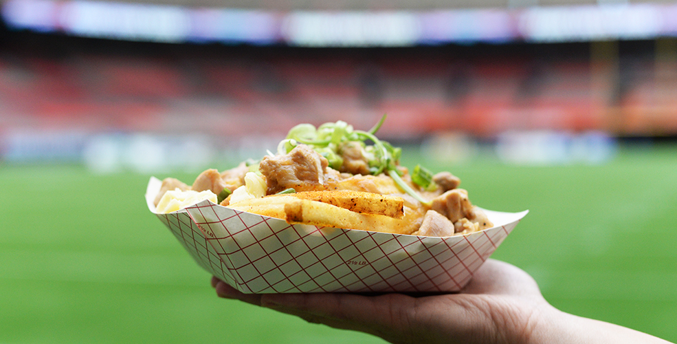 Here's the new food at BC Place, kicking off the BC Lions 2016 season