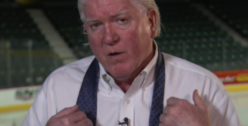 What's the deal with Brian Burke's tie? (PHOTOS)