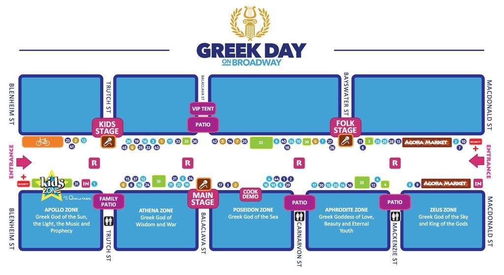 greek day 2016 vancouver map