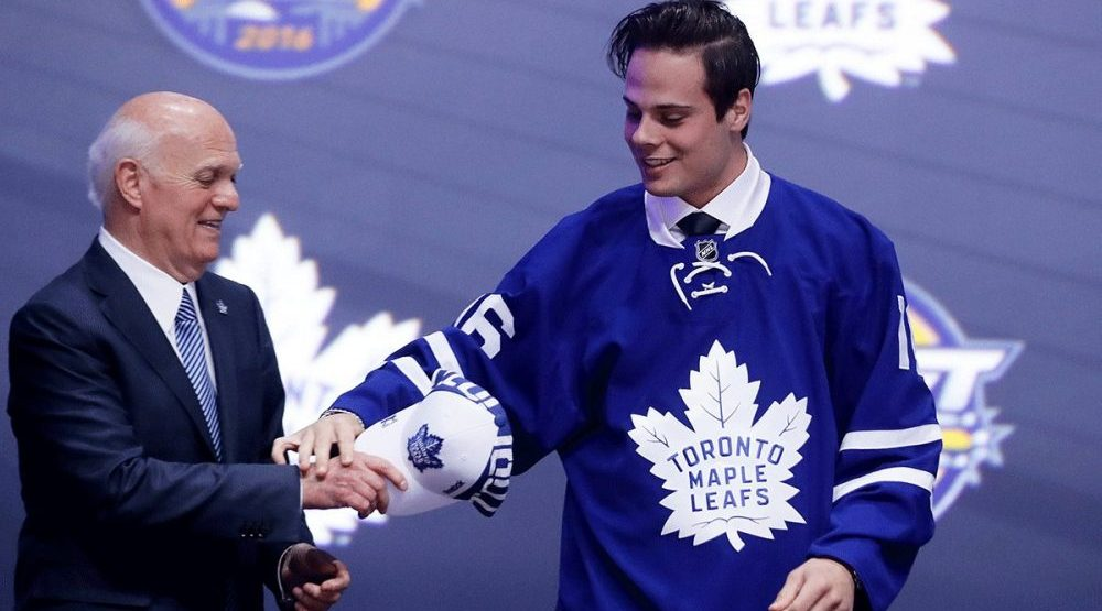 Leafs sign Auston Matthews to entry-level contract