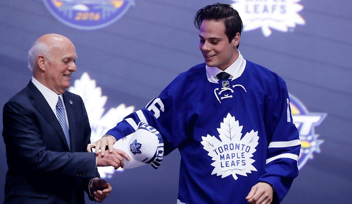 Matthews leafs draft