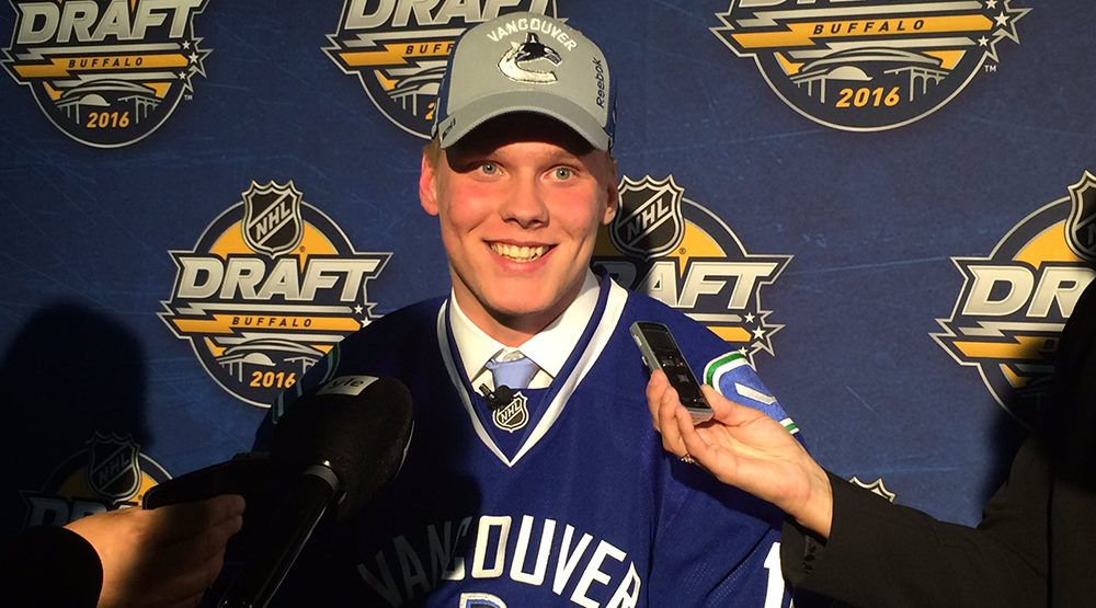 GTD Podcast: Talking Canucks prospects with Shane Malloy