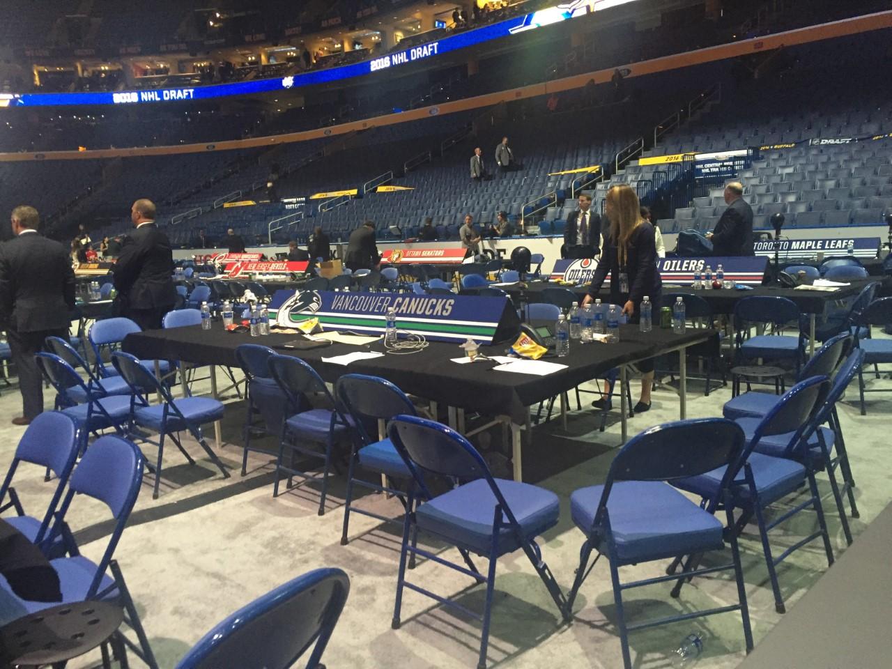 Canucks 2016 draft table