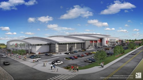 Image: New Horizon Mall Renderings / dHz Media Inc