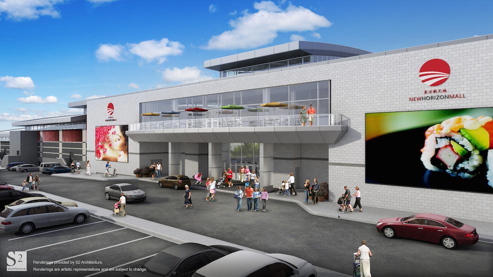 Construction on $200 million mall commences near Balzac