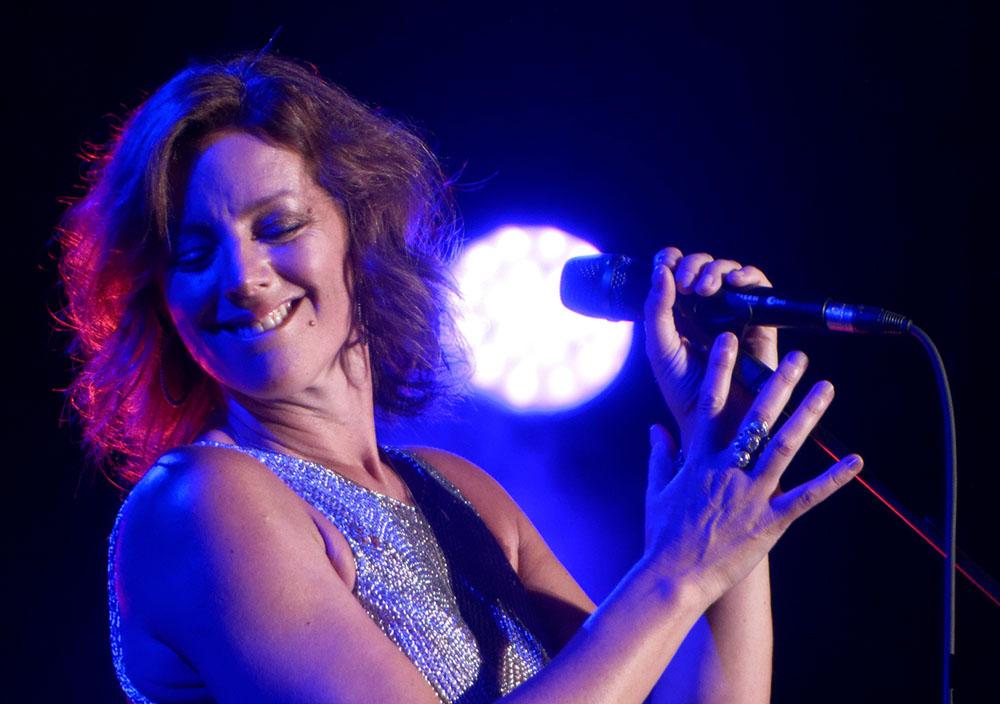 Sarah McLachlan performing at the Greek Theatre in LA (Justin Higuchi)