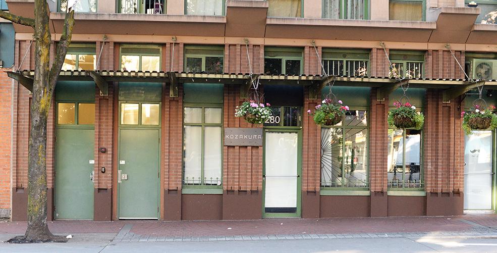 Kozakura takes over former Notturno restaurant in Gastown