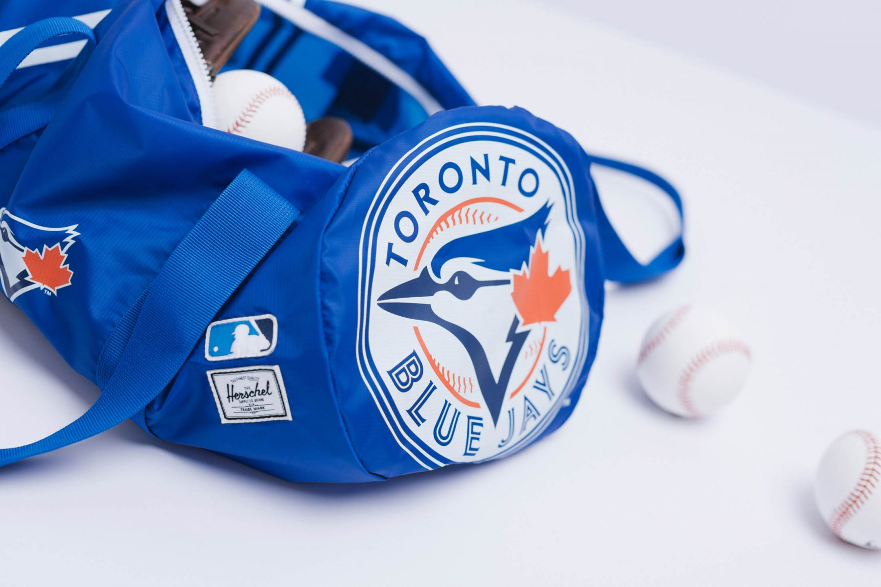 7f49cabd446 Herschel Supply releases limited edition Toronto Blue Jays bags ...