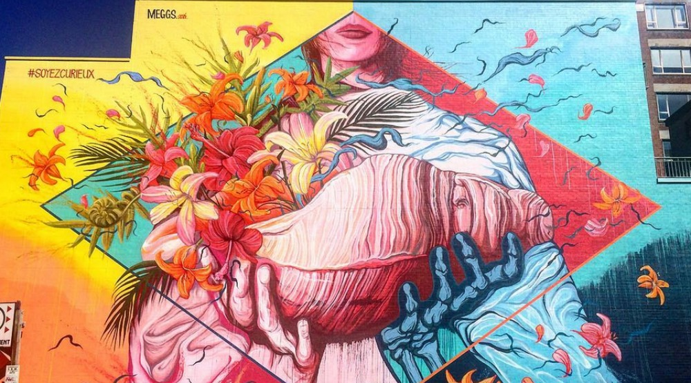 16 stunning photos from the Montreal Mural Festival