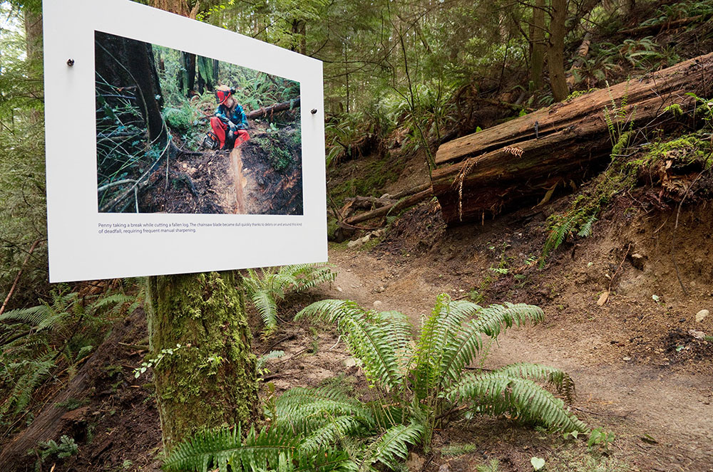 One of the photos on the trails (Euan Forrester)