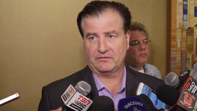 Canucks' Jim Benning fined $50,000 for tampering