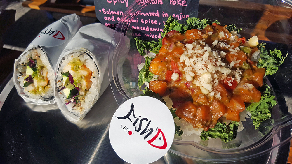 Fish'D by EDO sushi burrito and poke bowl