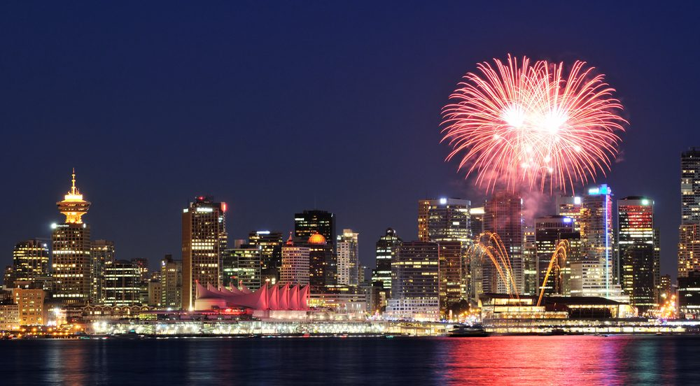 Image result for vancouver summer fireworks
