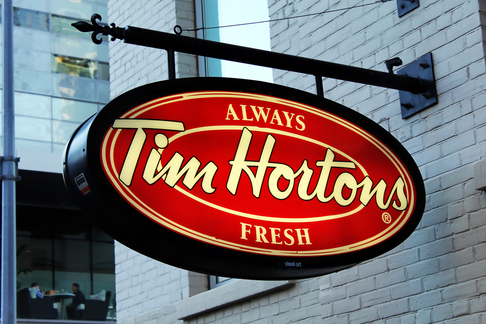 Tim Hortons prices